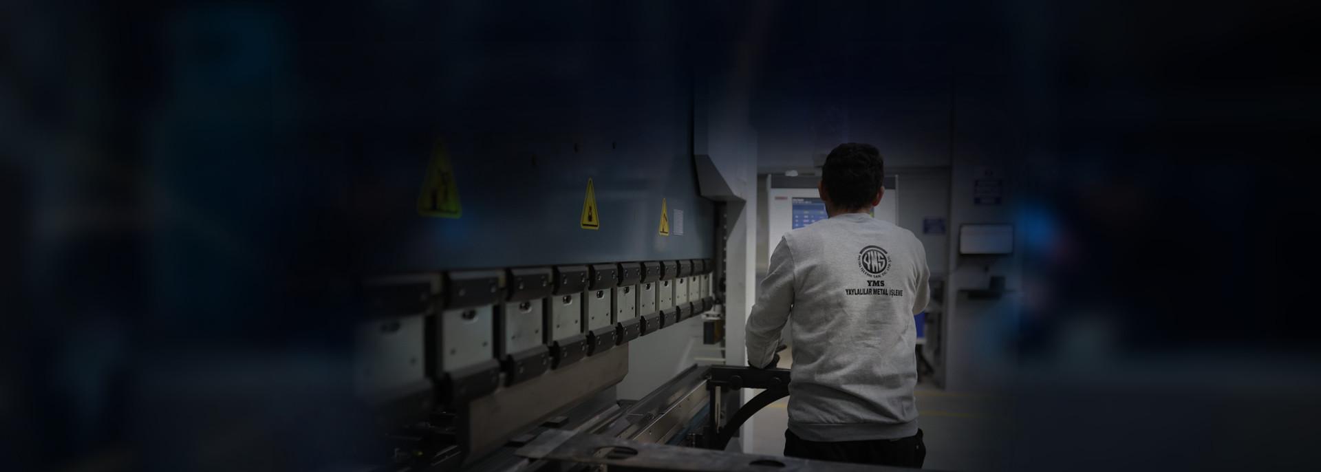 makinalarımız ile müşterilerimize kaliteli hizmet veriyoruz